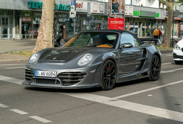Porsche 997 Anibal Automotive Design Attack Cabriolet