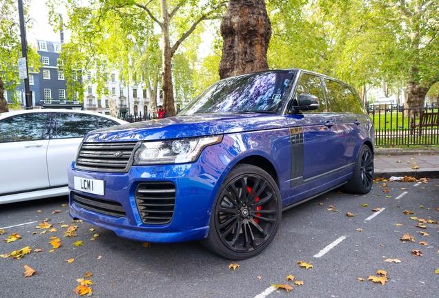 Land Rover Urban Range Rover SVAutobiography