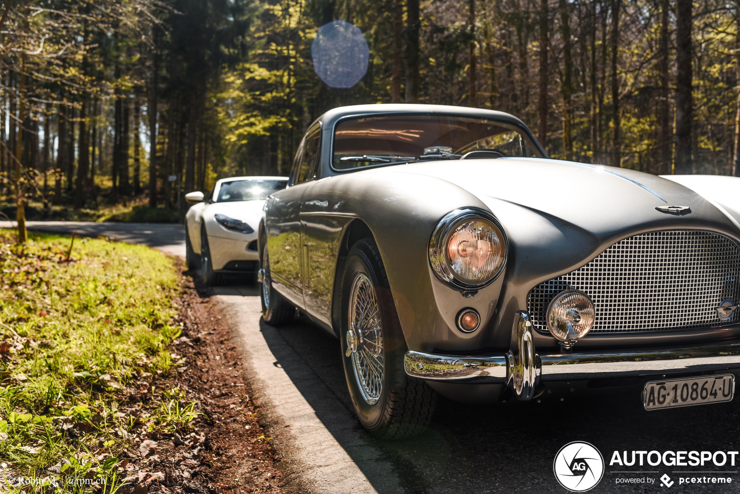 Heerlijke Aston Martin combo doet ons verlangen naar James Bond