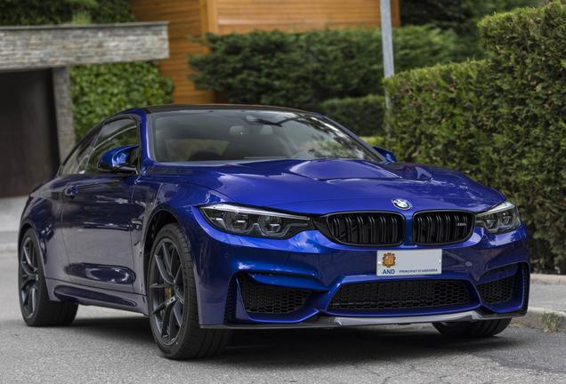 BMWM4 F82 CS 2017