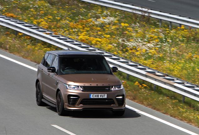 Land Rover Urban Range Rover Sport SVR 2018