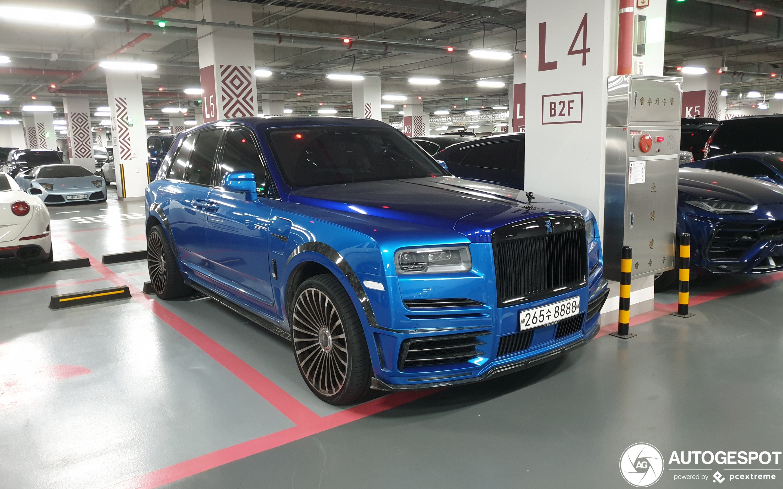 Rolls-Royce Mansory Cullinan Wide Body