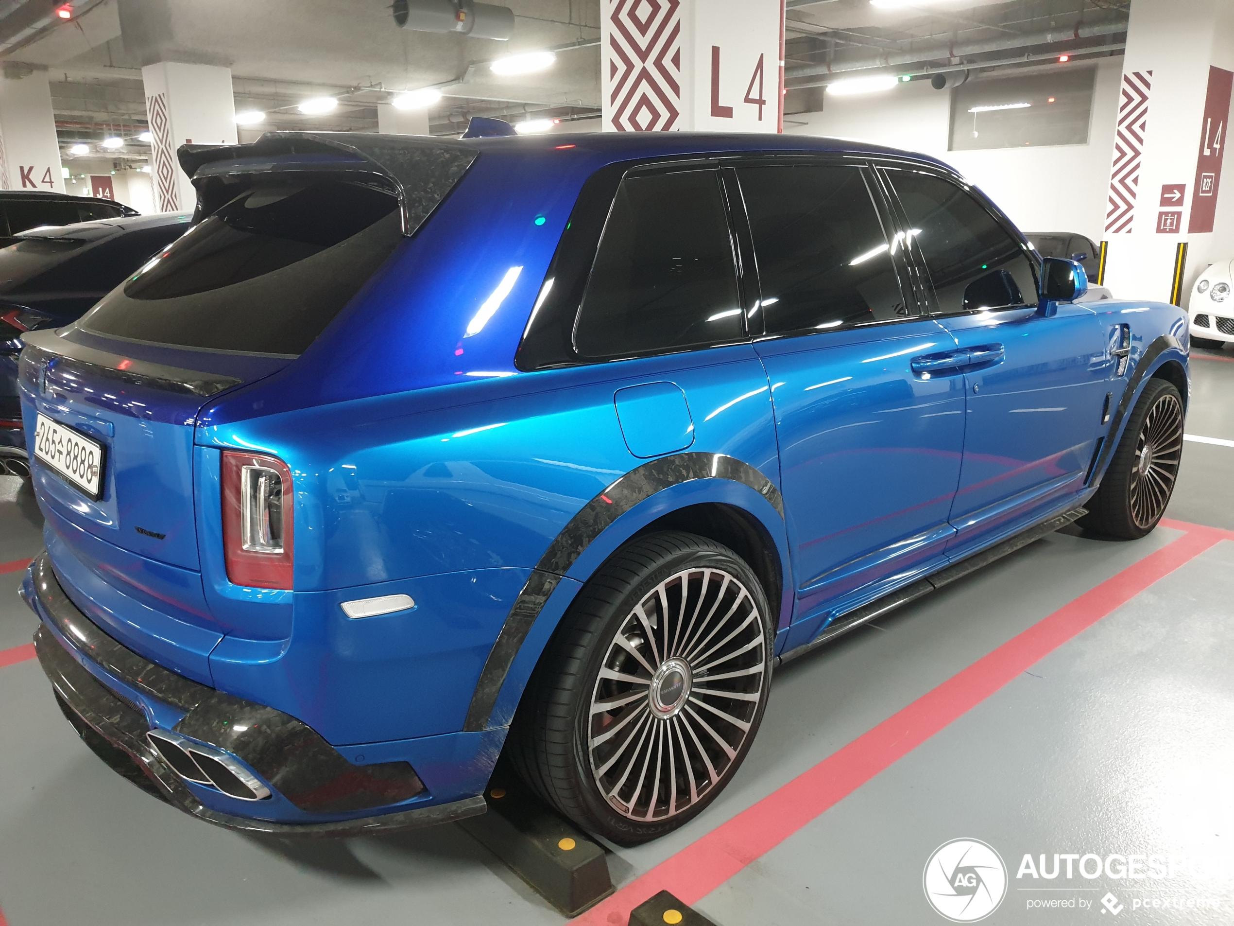 Garage van Seoul staat stampvol luxe auto's