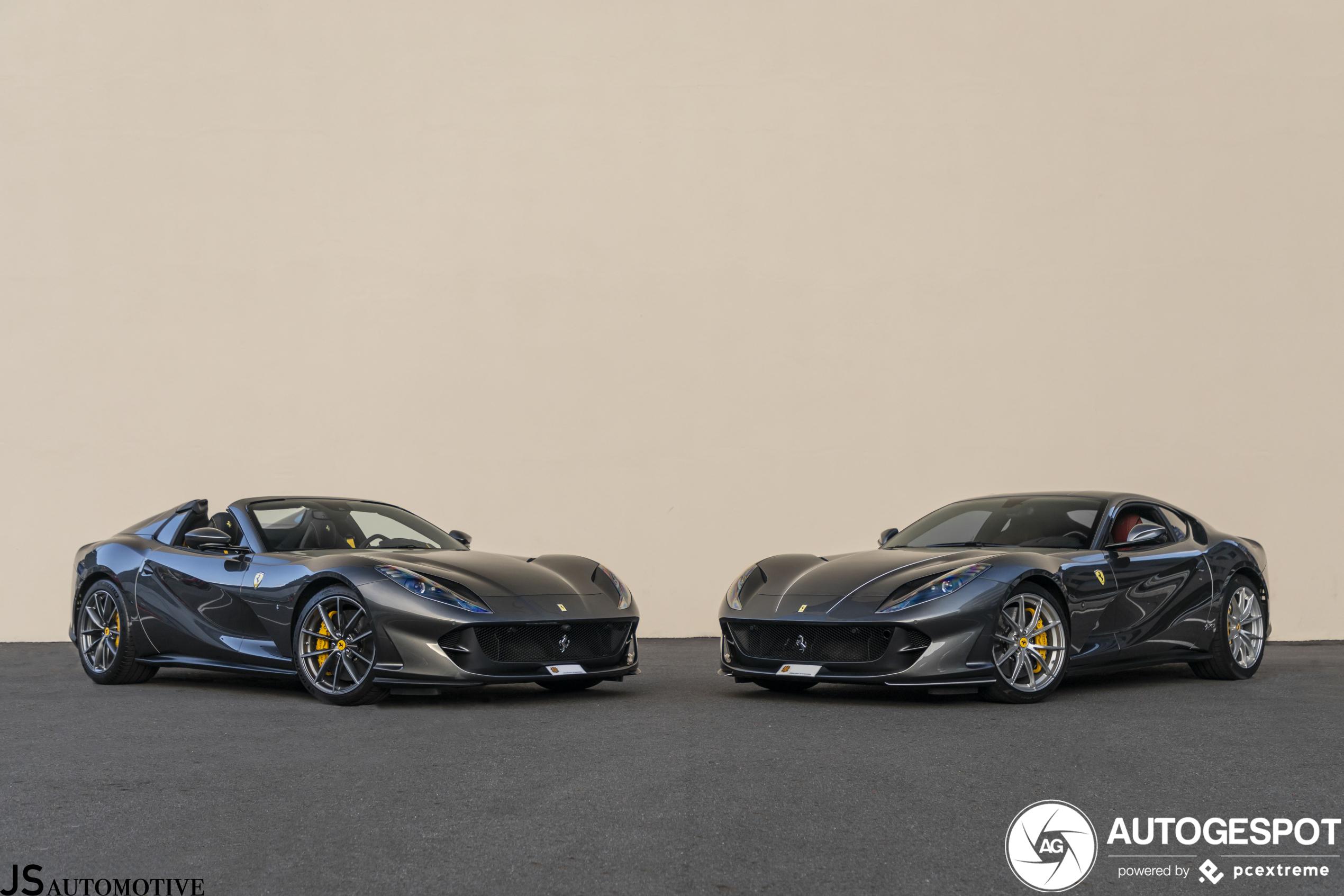Kiezen maar: open of dichte Ferrari?