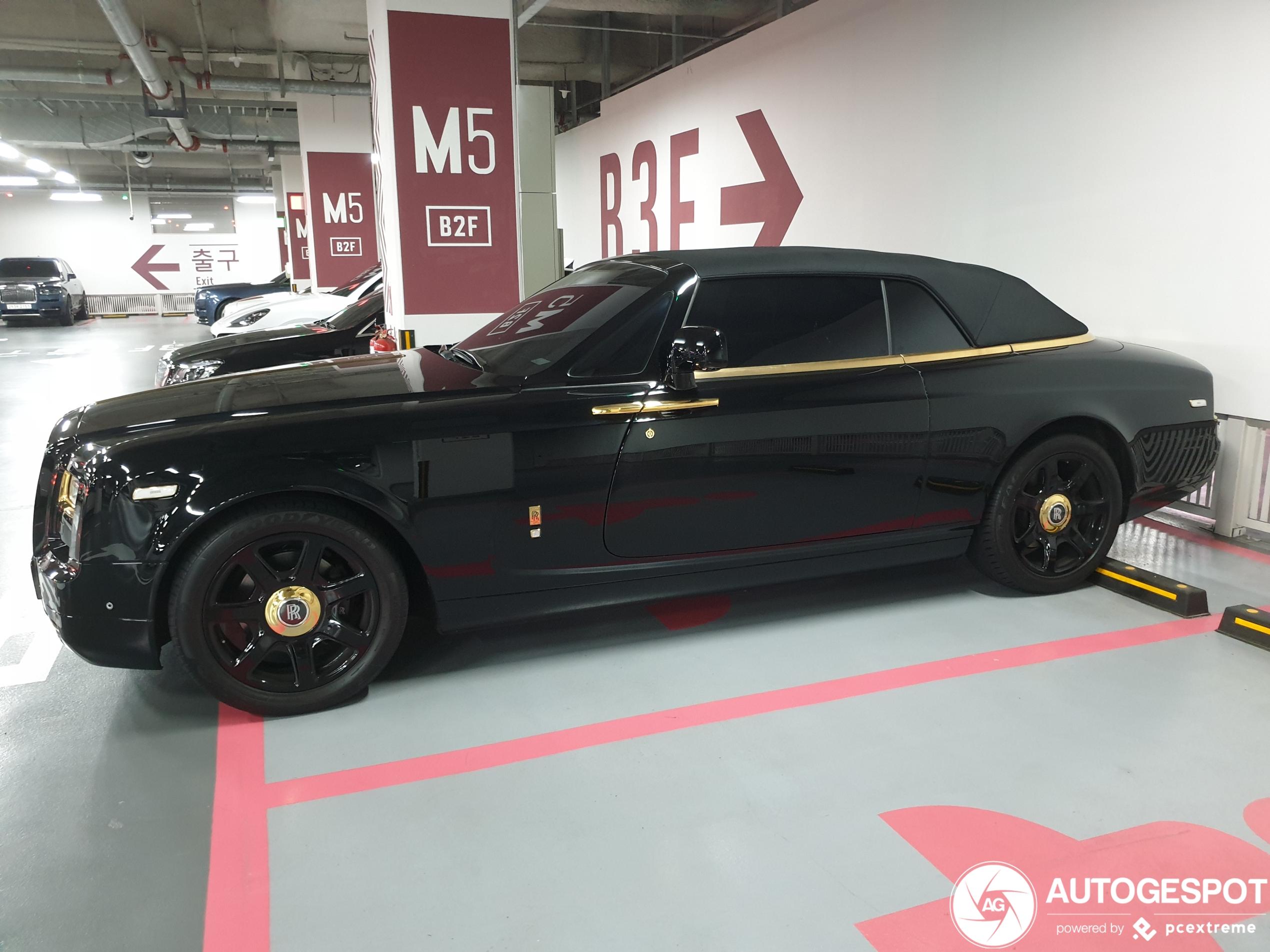 Koreaanse Rolls-Royce gaat niet meer voor volledig goud