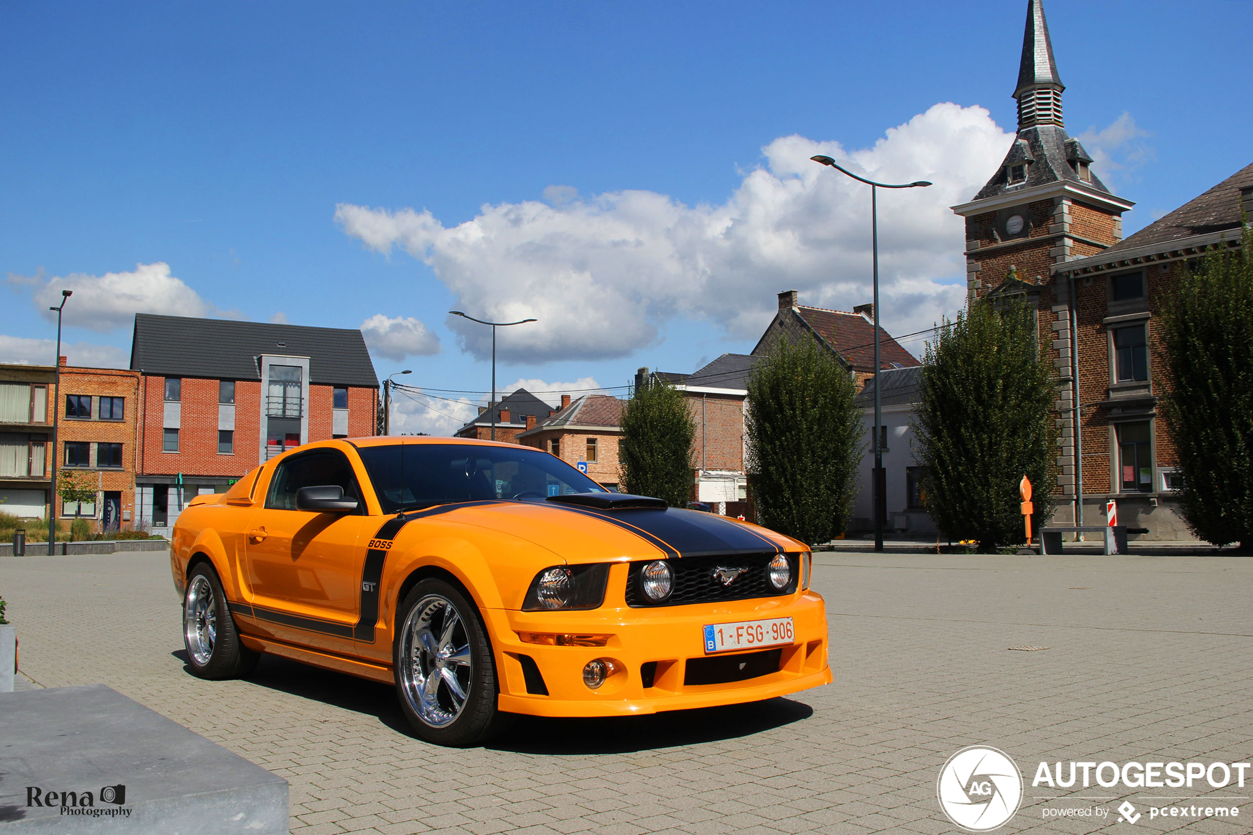 Ford Mustang GT Boss 281