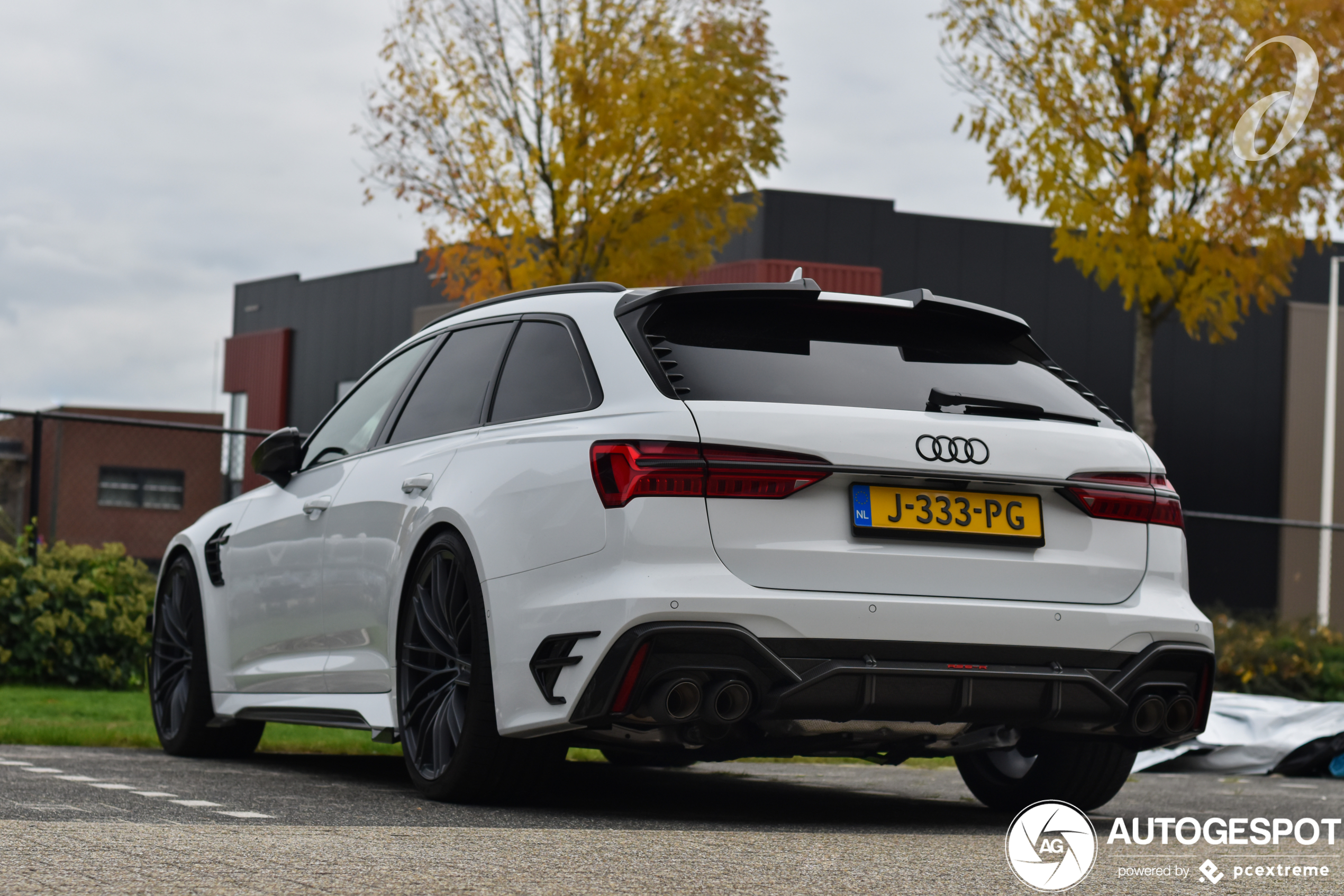 Kneiterdik! Audi ABT RS6-R Avant in zwart/wit