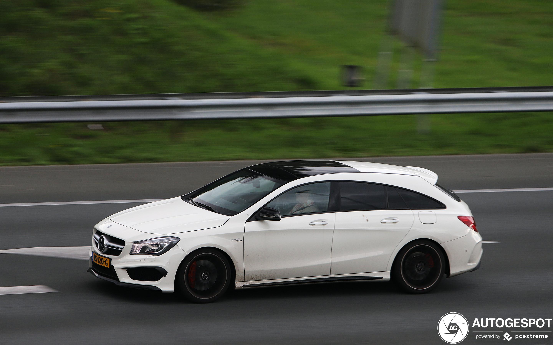 Mercedes-AMG CLA 45 Shooting Brake X117
