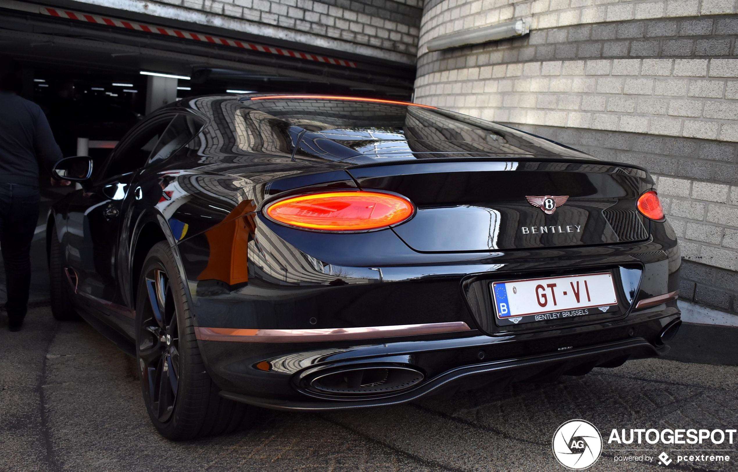 Unieke Bentley Continental GT duikt op in Knokke-Heist