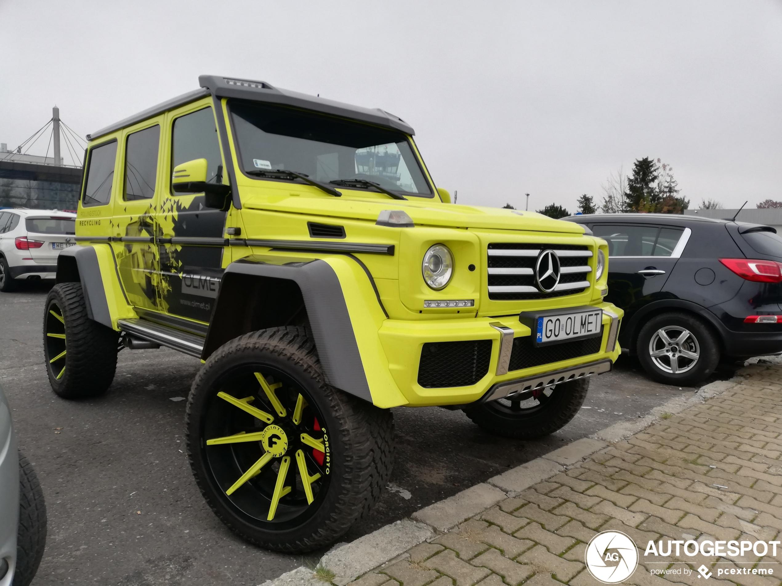 Mercedes-Benz G 500 4x4 heeft nieuwe sloffen