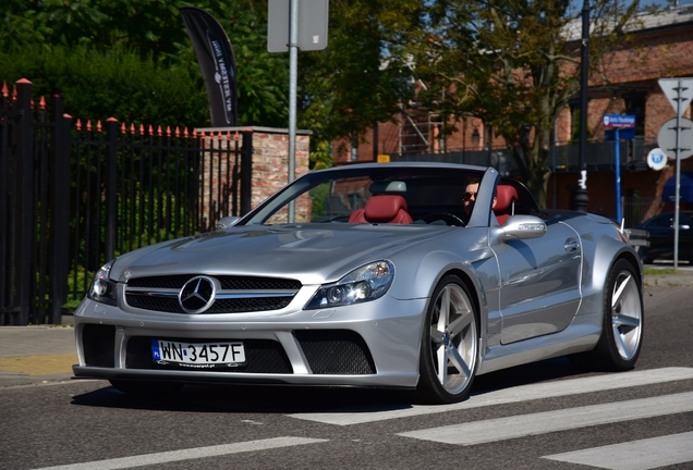 Mercedes-Benz SL 55 AMG R230 Ewerpol Design