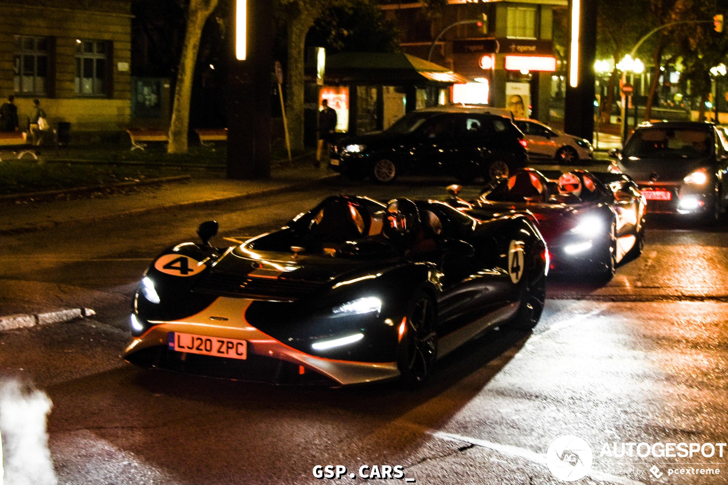 McLaren Elva duo gespot in Tarragona