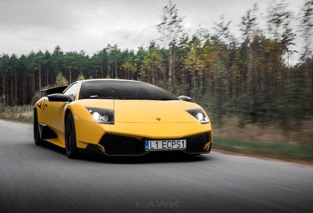 Lamborghini Murciélago LP670-4 SuperVeloce Twin-Turbo Underground Racing