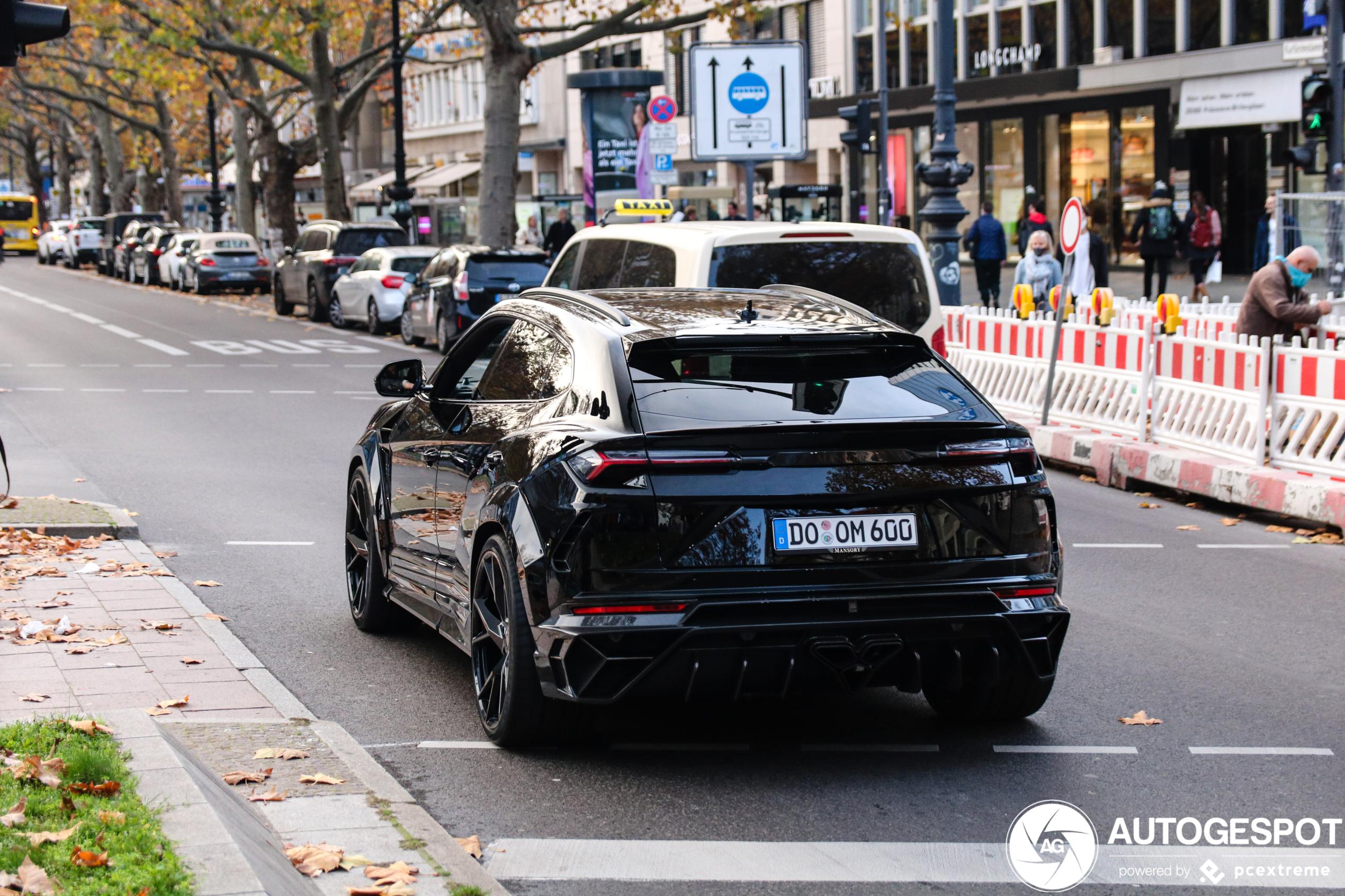 Gespot: Lamborghini Urus flink omgebouwd door Mansory
