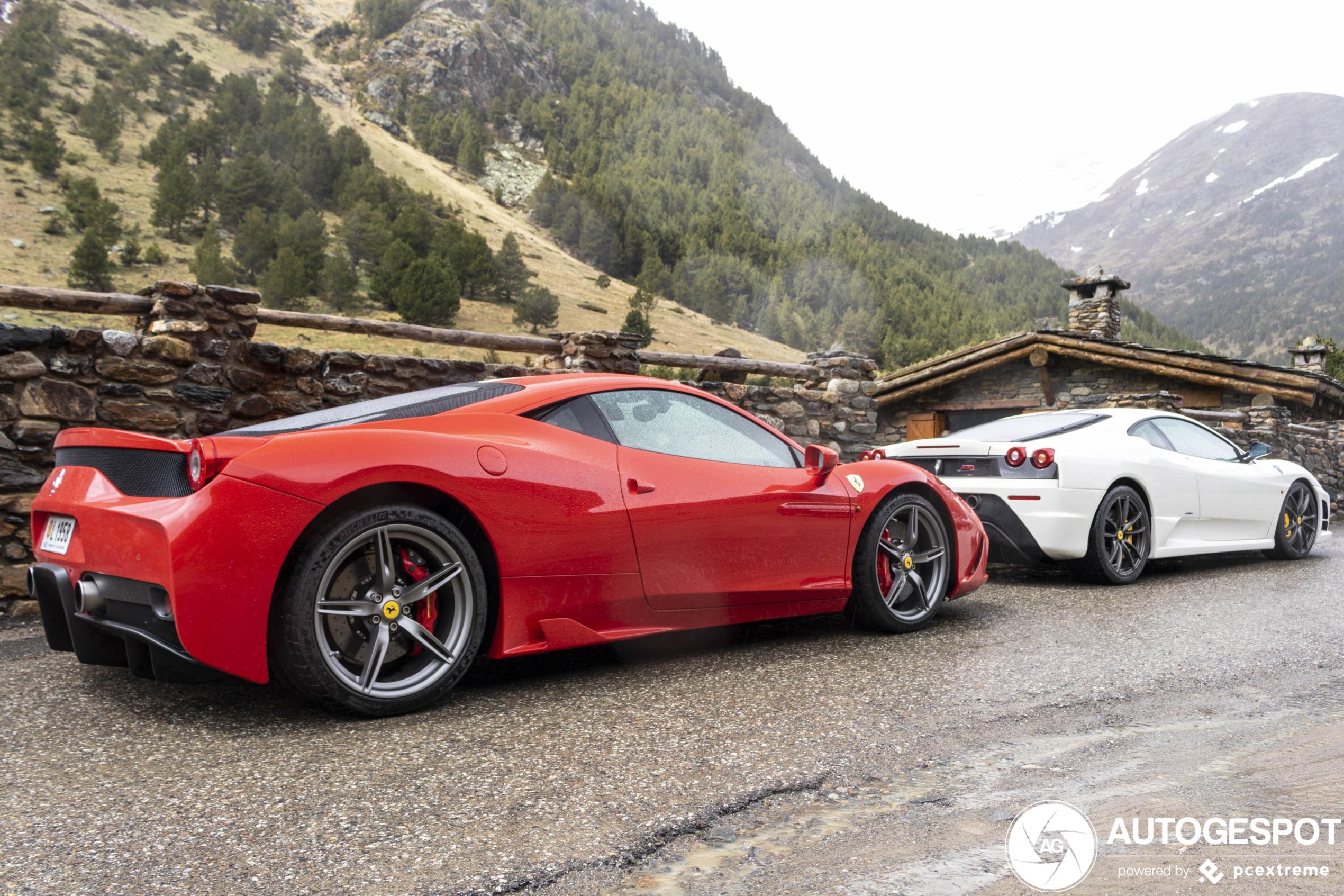 Dit waren de laatste hardcore Ferrari's met ongeblazen V8