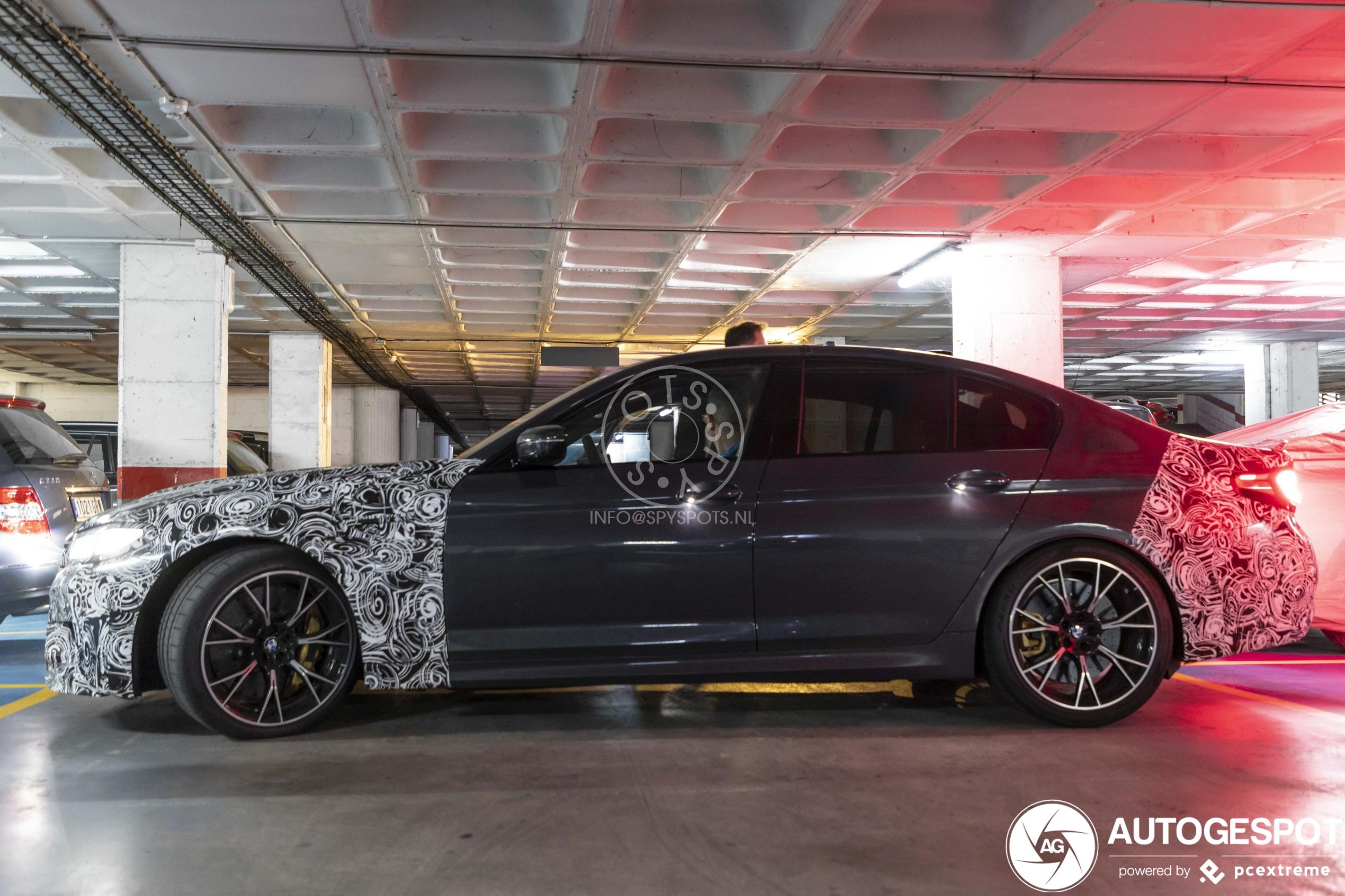 Spyshots: BMW M5 CS wordt snelste BMW ooit