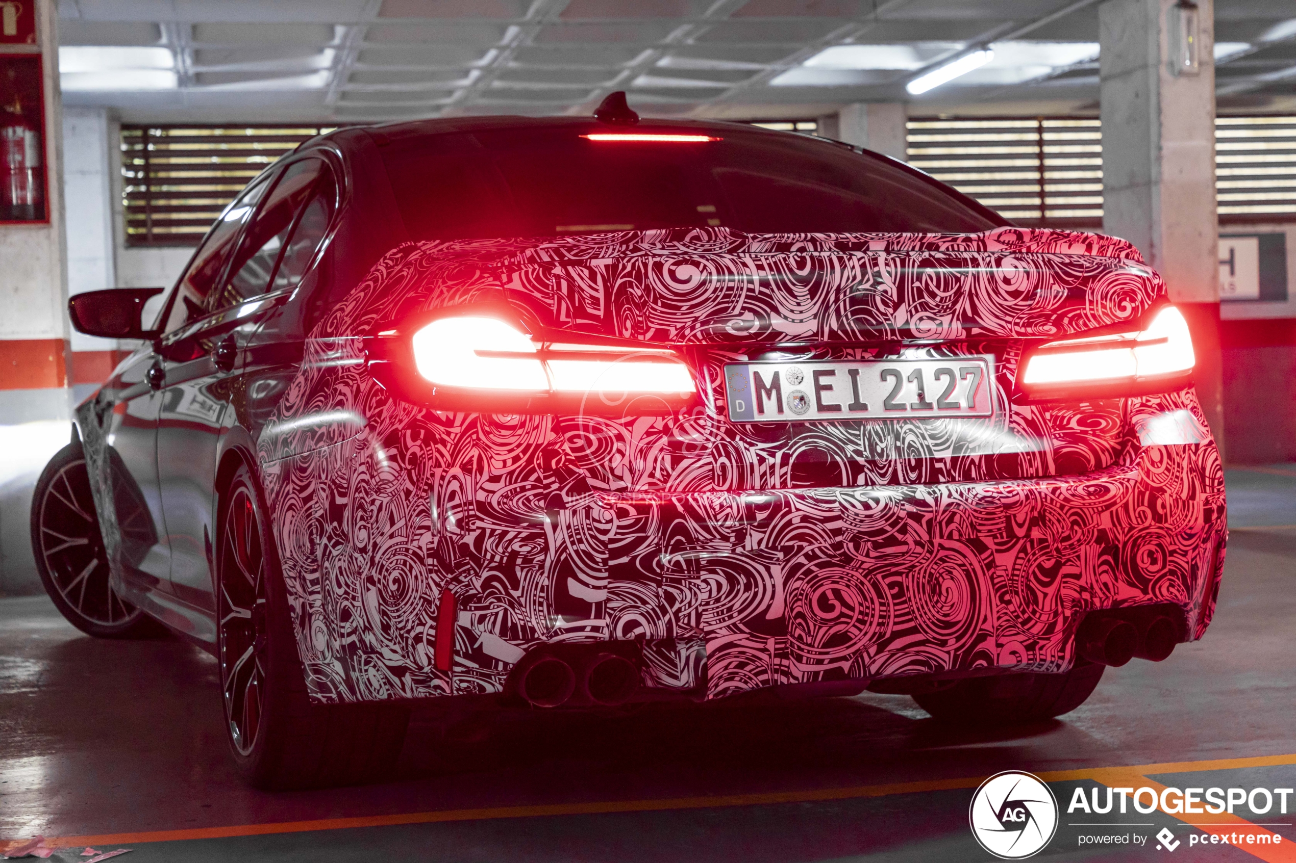 Spyshots: BMW M5 CS will be fastest BMW ever