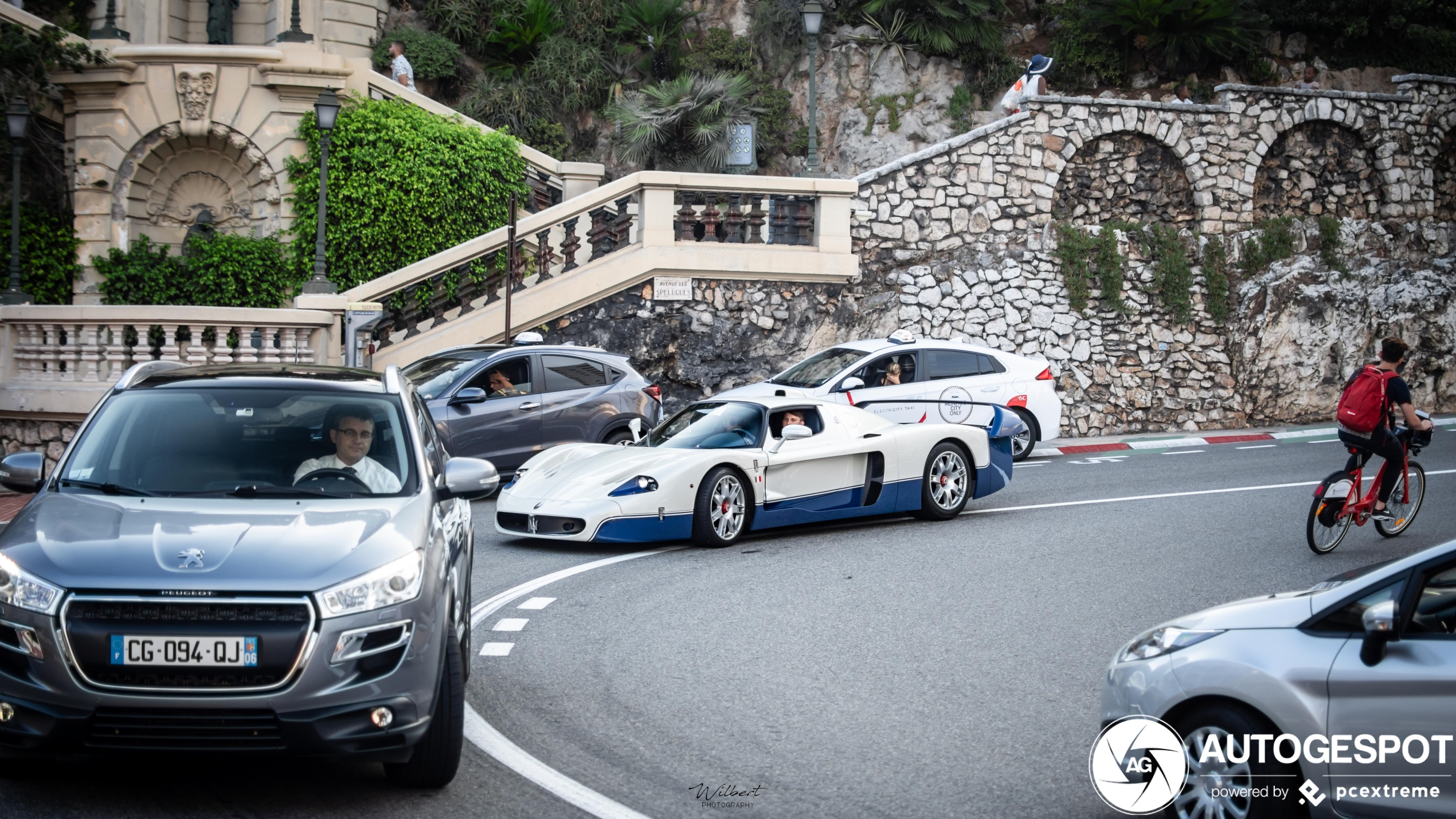 A Maserati MC12 will never get you bored