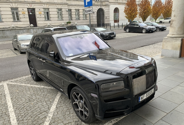 Rolls-Royce Cullinan Black Badge