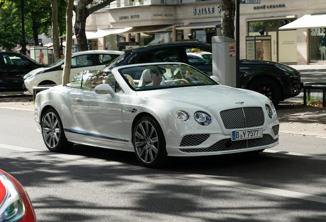 Bentley Continental GTC V8 2016 Galene Edition