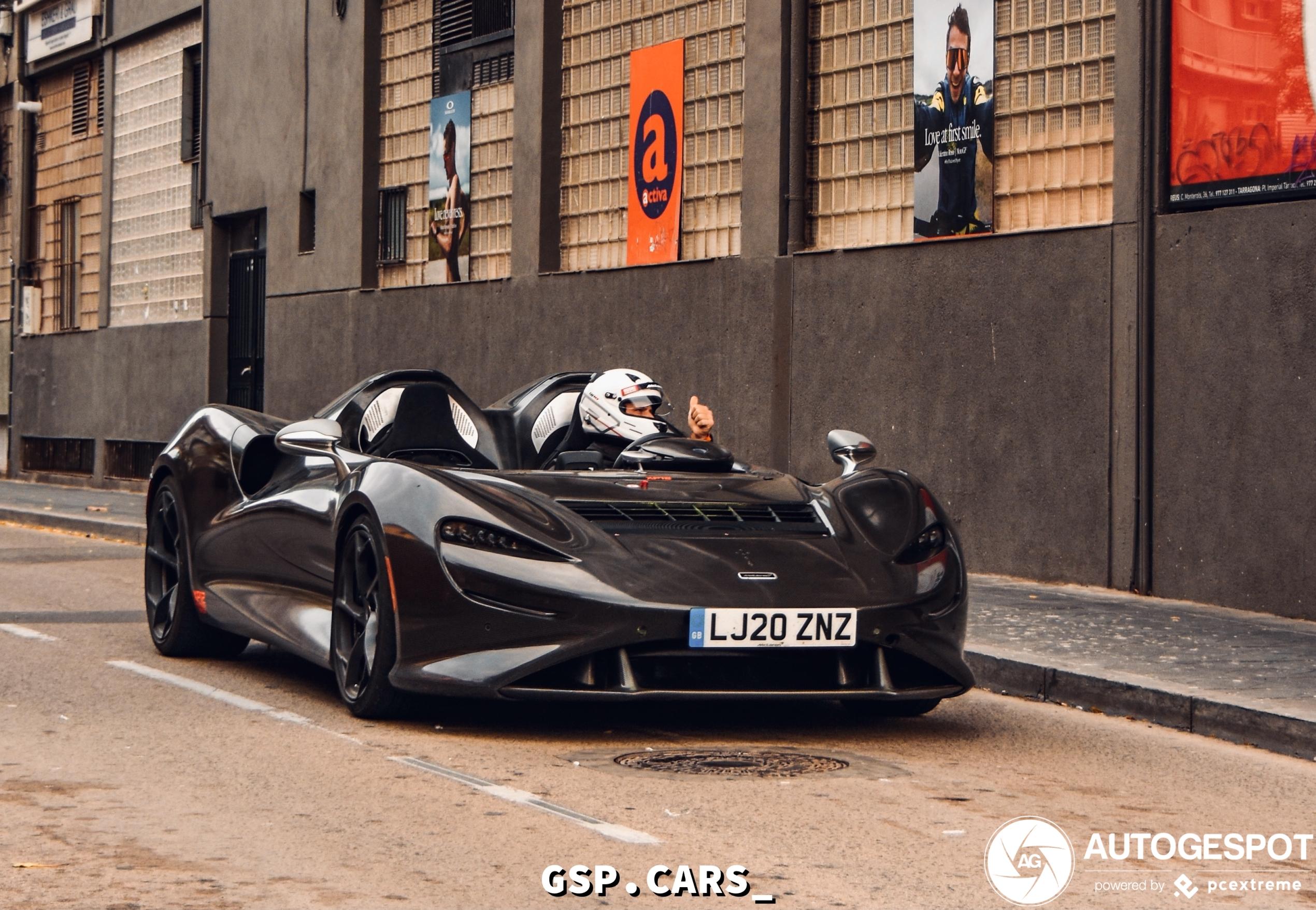 McLaren Elva heeft volledige carbon fiber behandeling gekregen