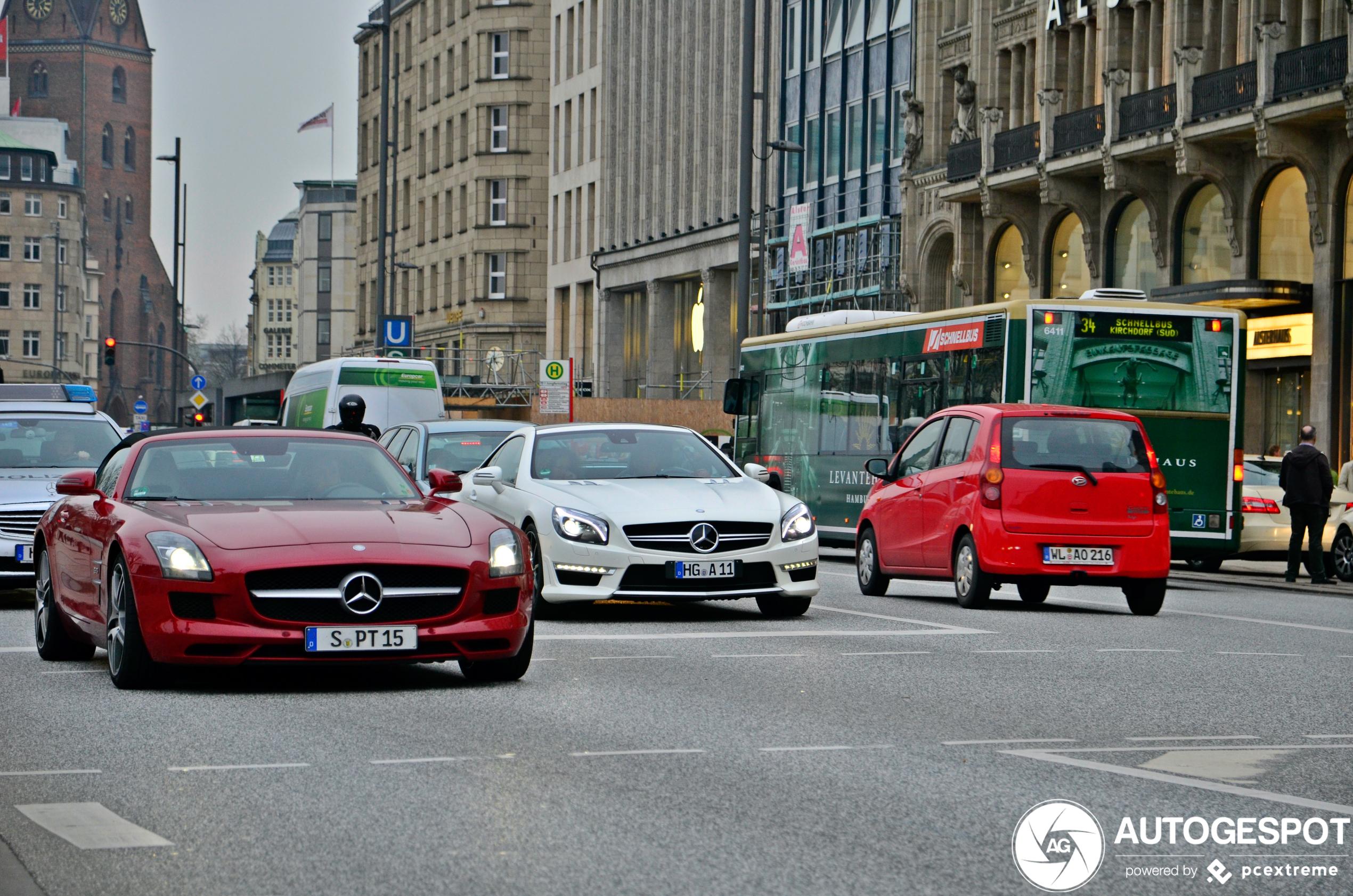 Mercedes-Benz SLS AMG Roadster