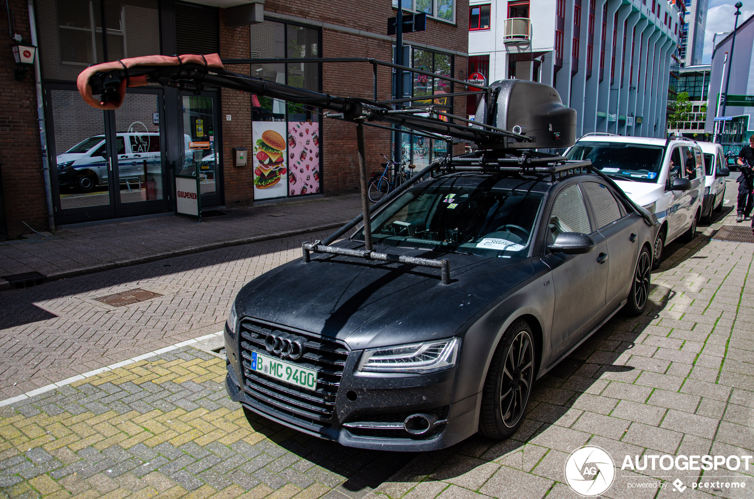 Audi S8 Plus kan alles tot in detail vast leggen
