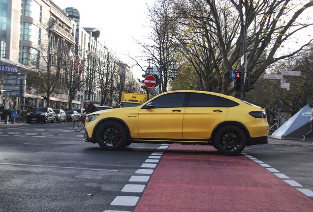Mercedes-AMG GLC 63 S Coupe C253 2018