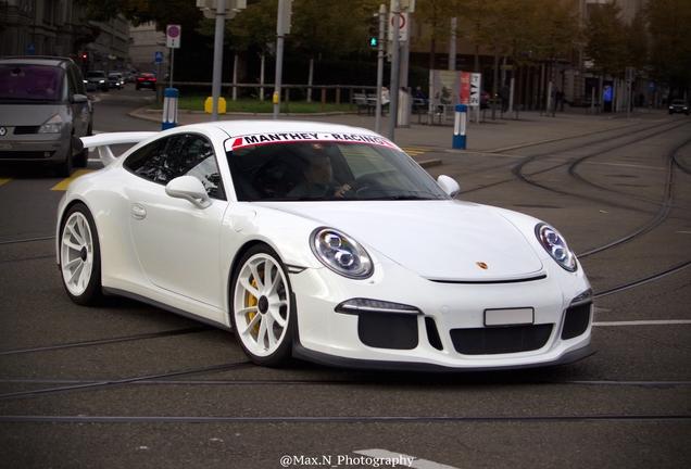 PorscheManthey Racing 991 GT3 MR