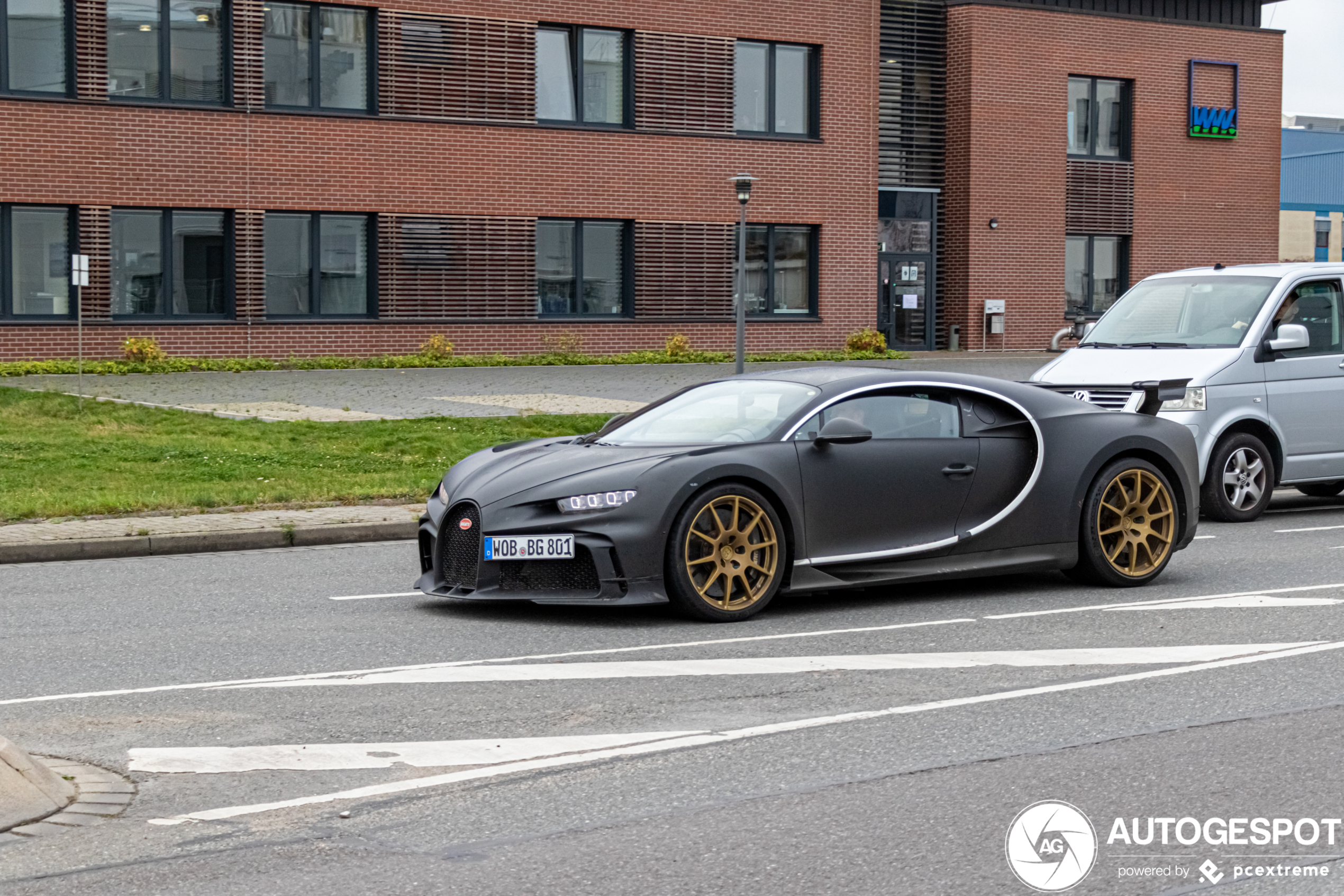 We vangen weer een glimp op van de Bugatti Chiron Pur Sport