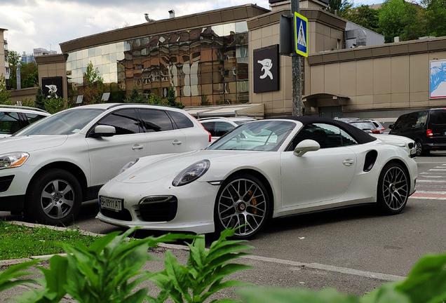 Porsche991 Turbo S Cabriolet