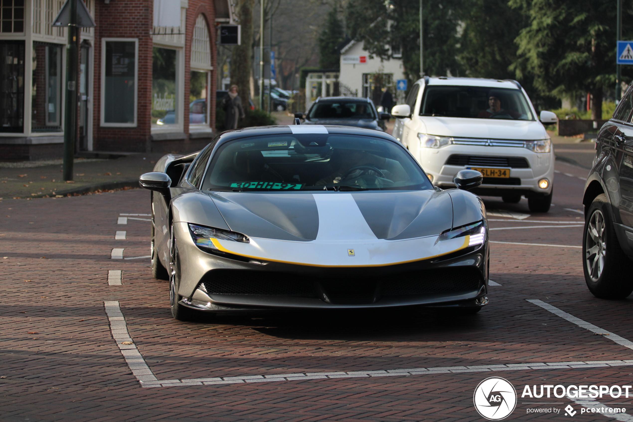 Primeur in Laren: Ferrari SF90 Stradale!