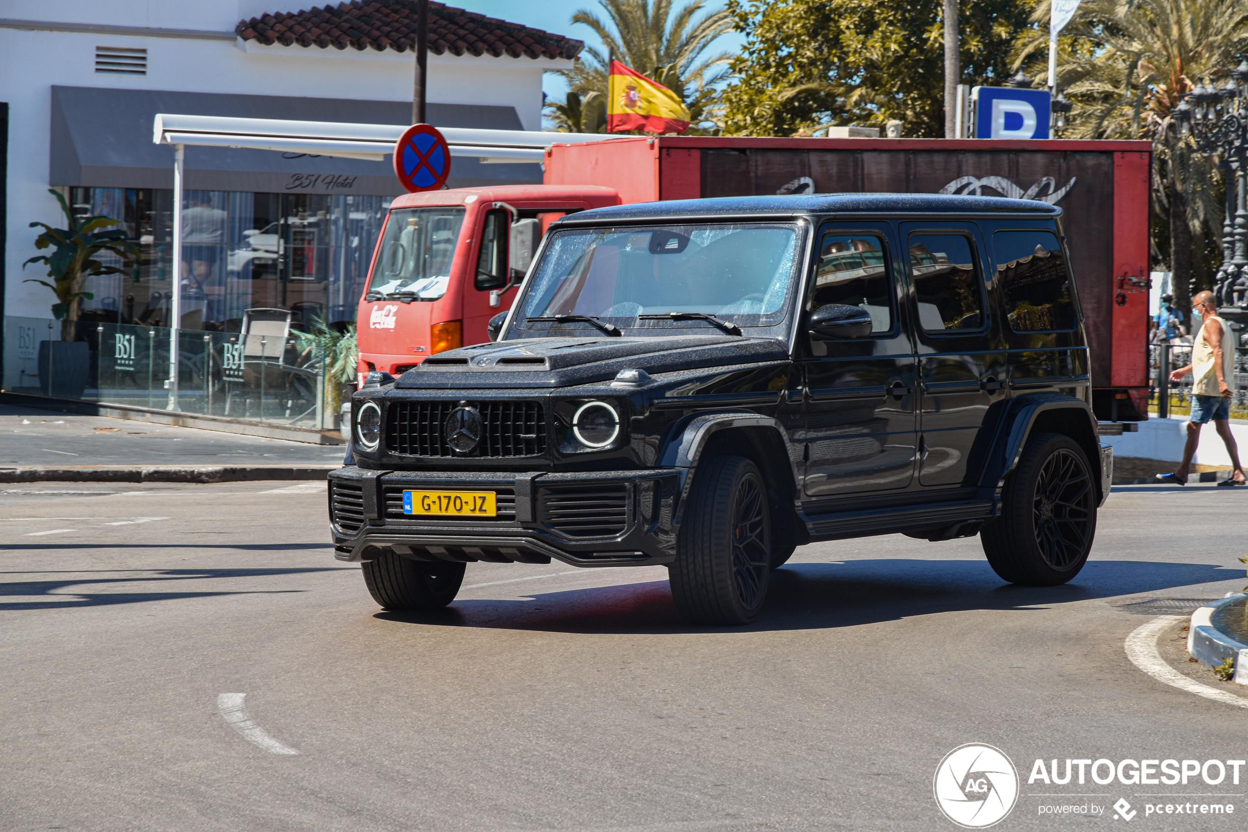 Mercedes-AMGG 63 W463 2018 Urban 700 S