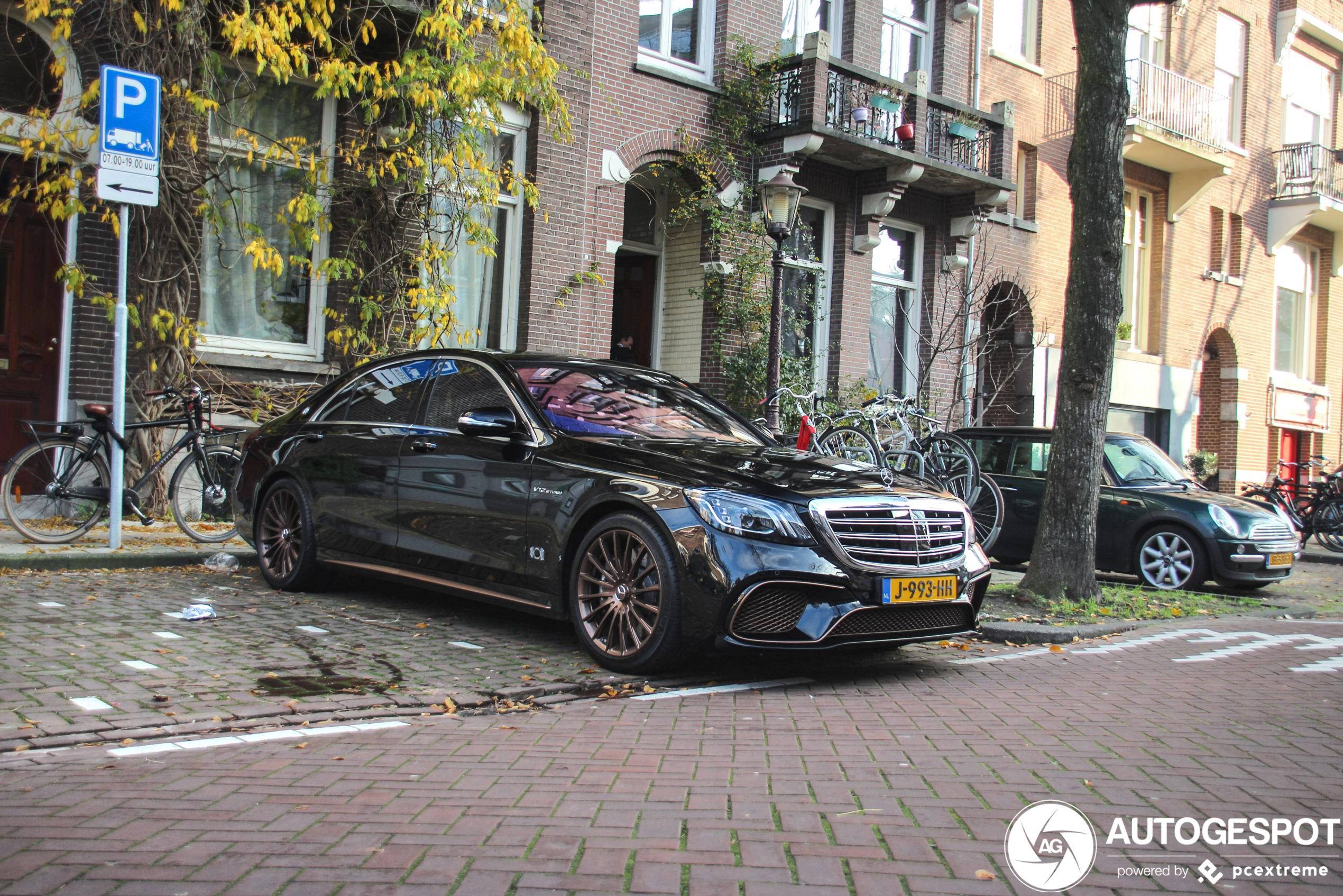 We blijven een traantje wegpinken: Mercedes-AMG S 65 Final Edition