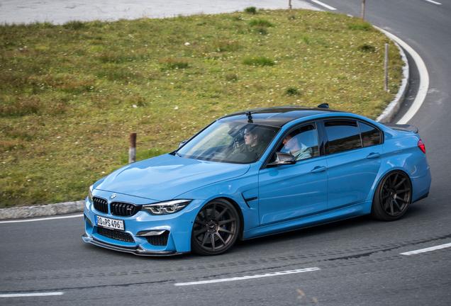 BMW M3 F80 Sedan 2017 Vorsteiner