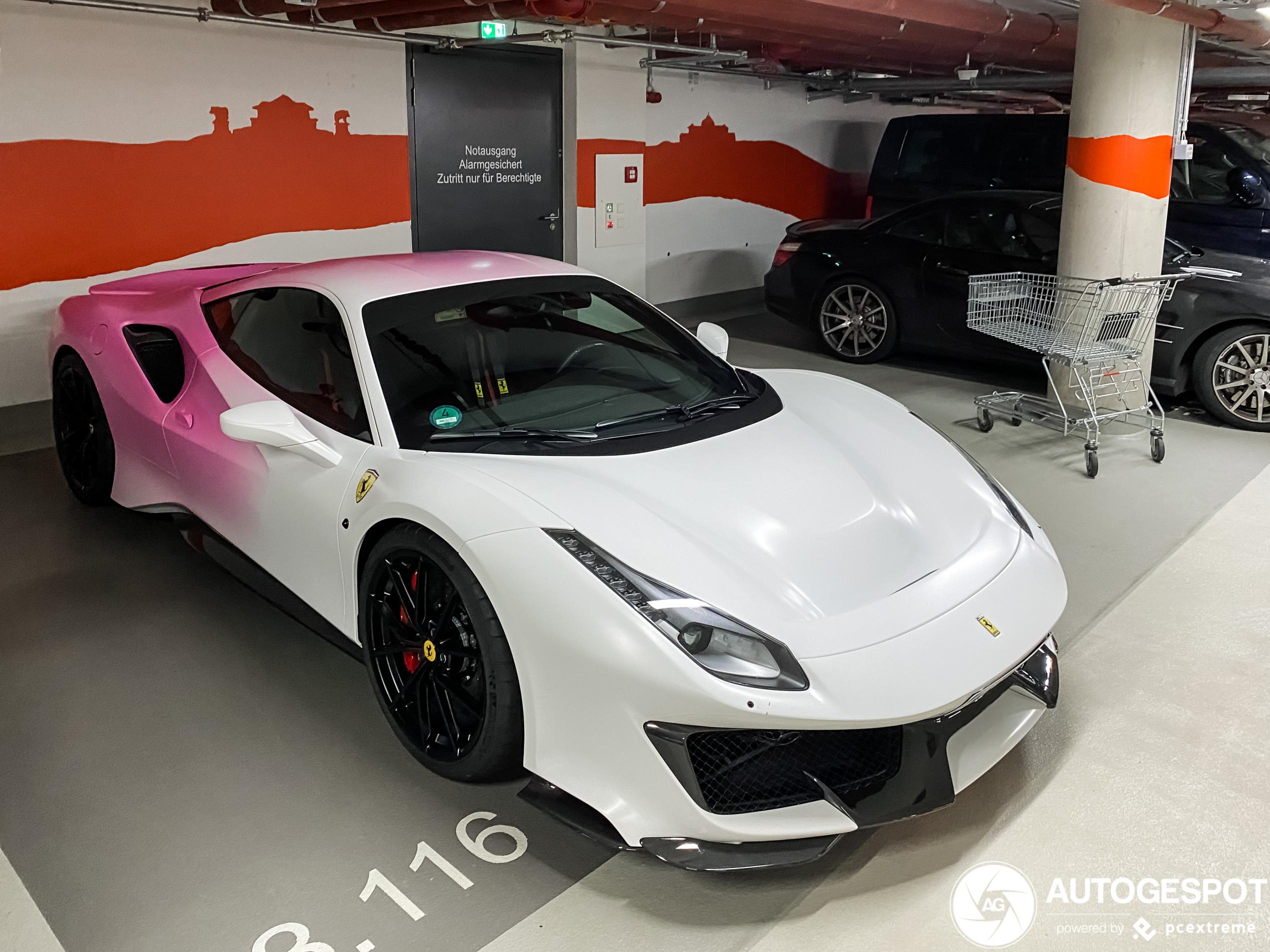 Ferrari 488 Pista is zijn mannelijkheid verloren