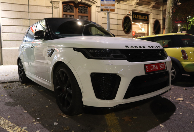 Land Rover Range Rover Sport SVR 2018