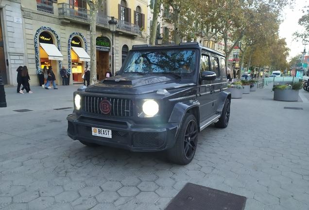 Mercedes-AMGBrabus G B40-700 Widestar W463 2018