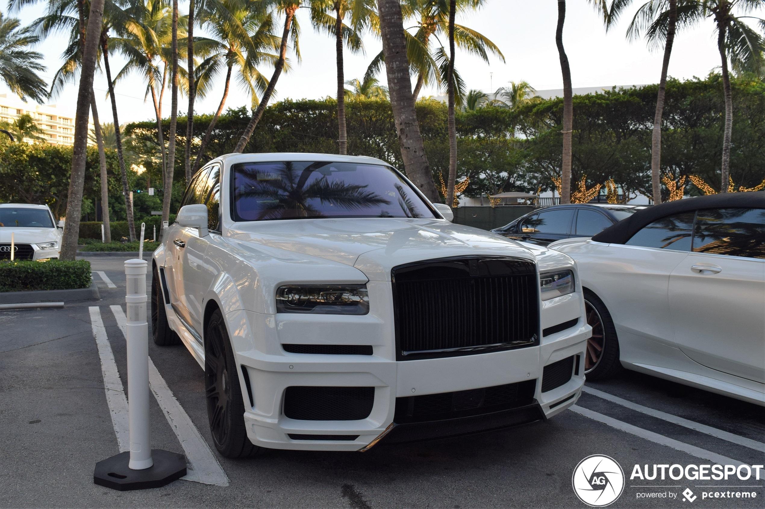 Tweede Rolls-Royce Cullinan Spofec Overdose laat zich zien