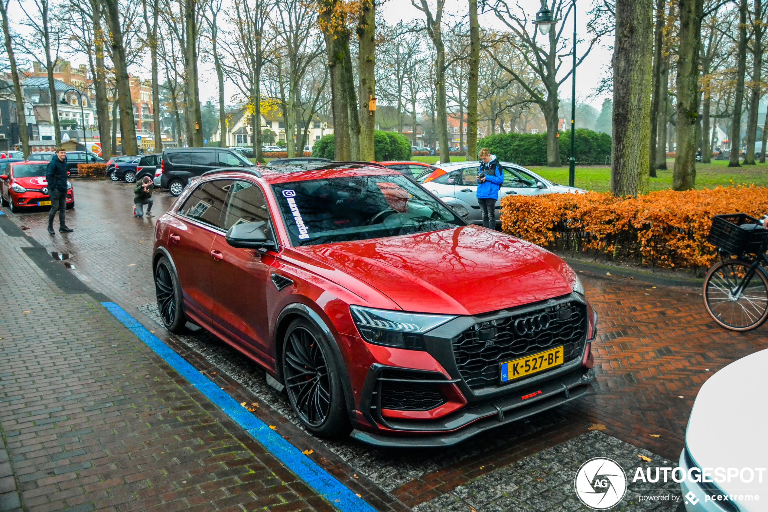 Audi ABT RS Q8-R is een dikke sumoworstelaar