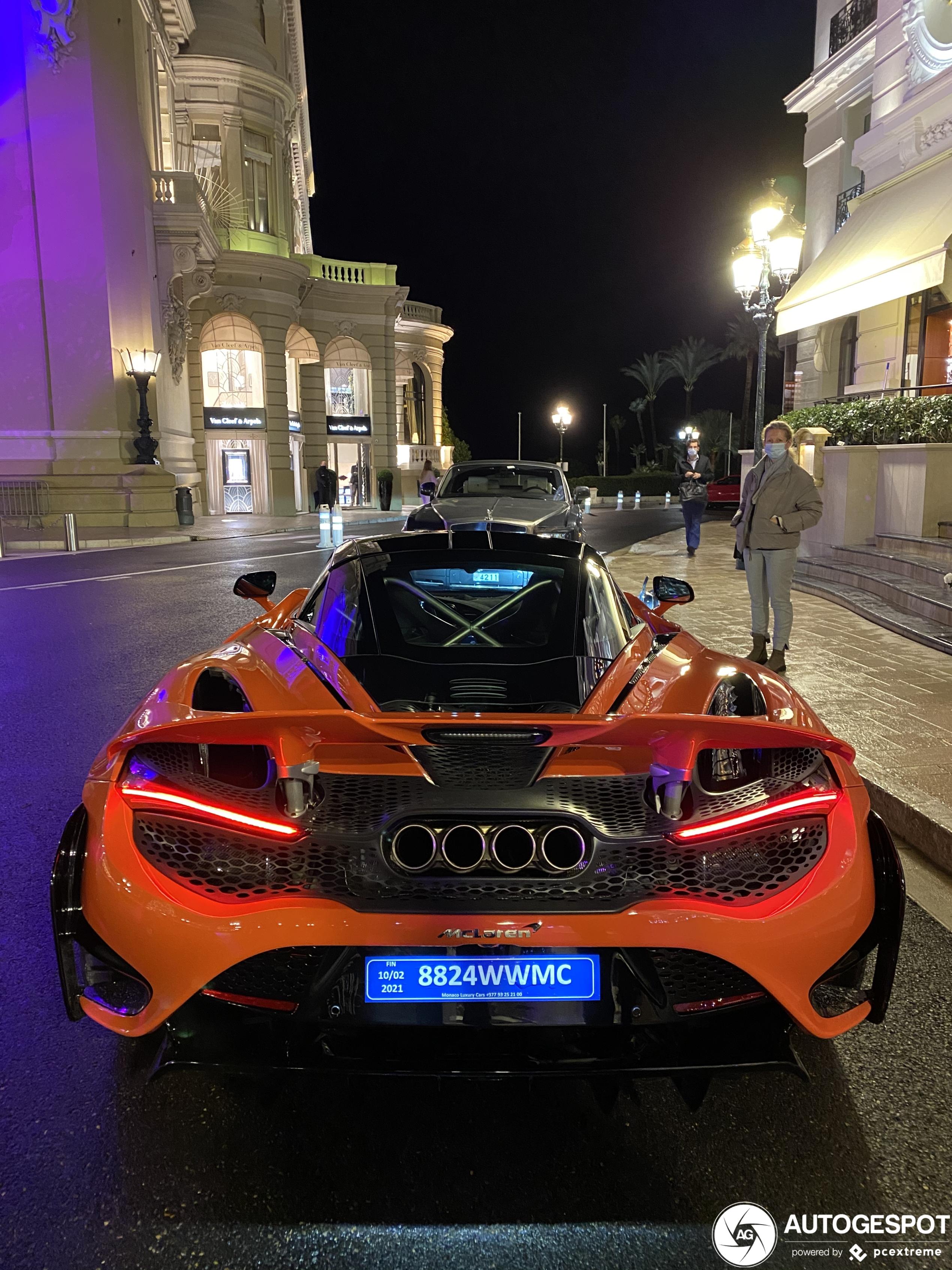 McLaren 765LT mag kerst vieren in Monaco