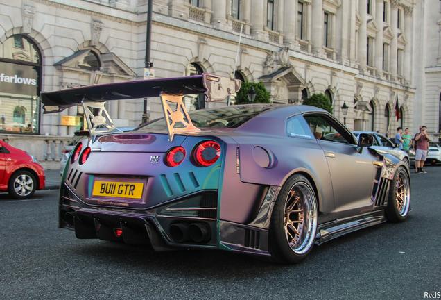 Nissan GT-R 2017 Nismo Kream Developments Widebody