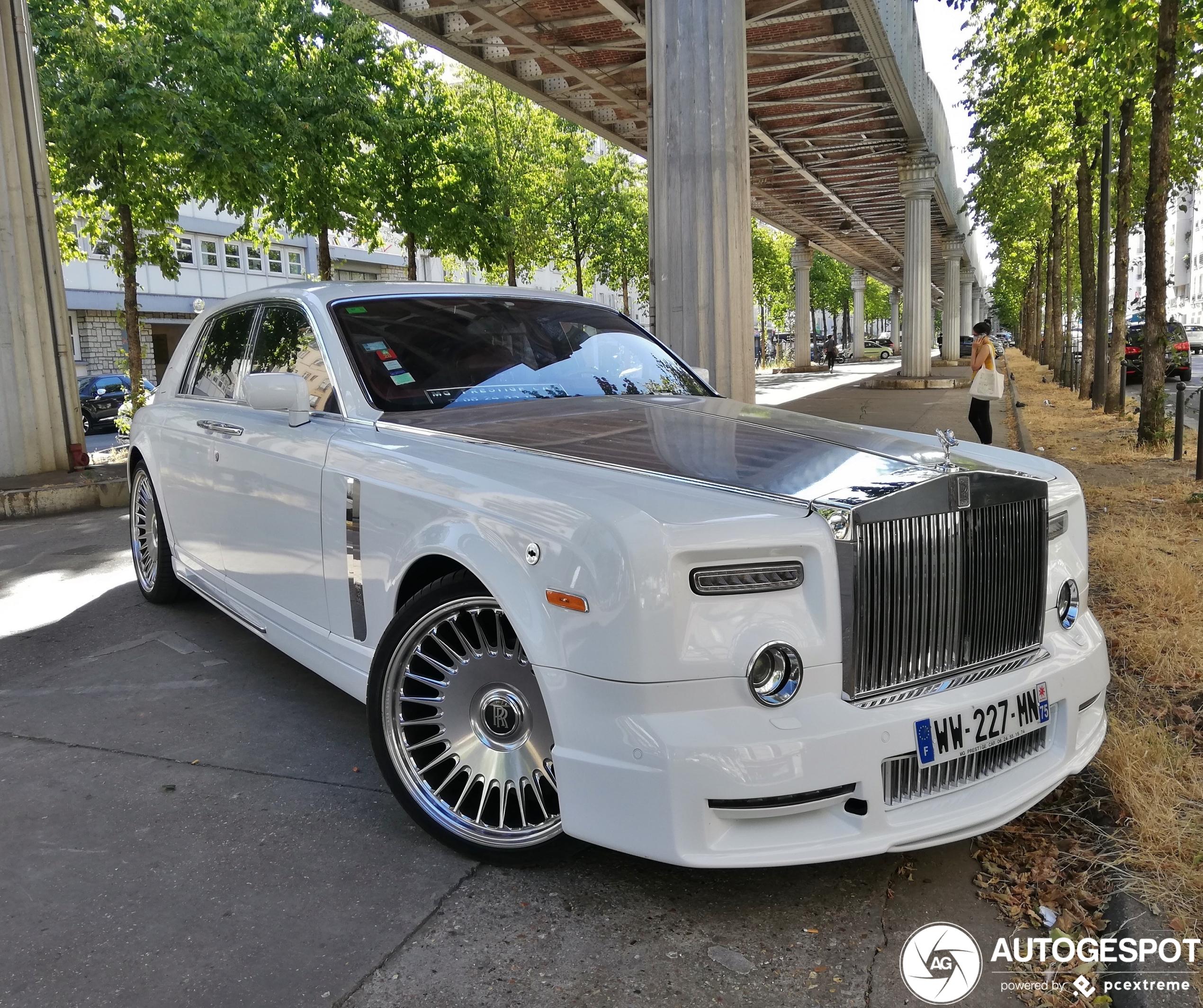 Rolls-Royce Phantom Mansory Conquistador is niet voor Parijs