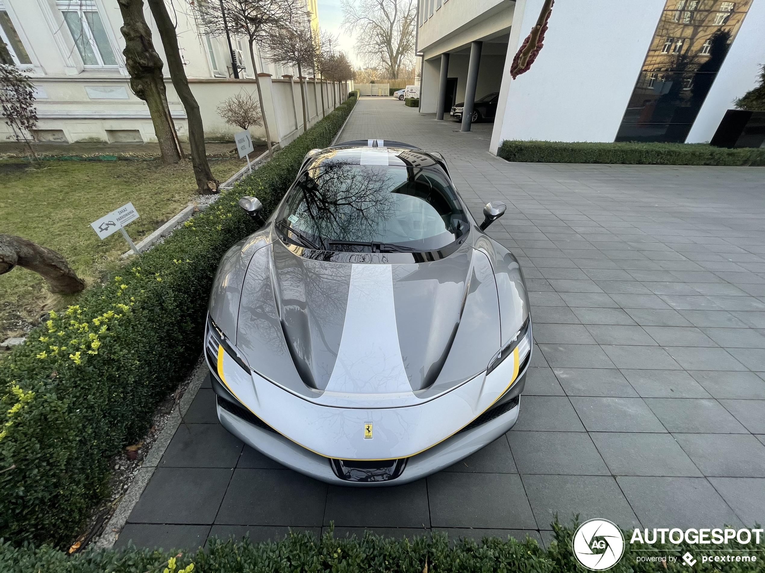 Polen heeft ook een Ferrari SF90 Stradale Assetto Fiorano gekregen