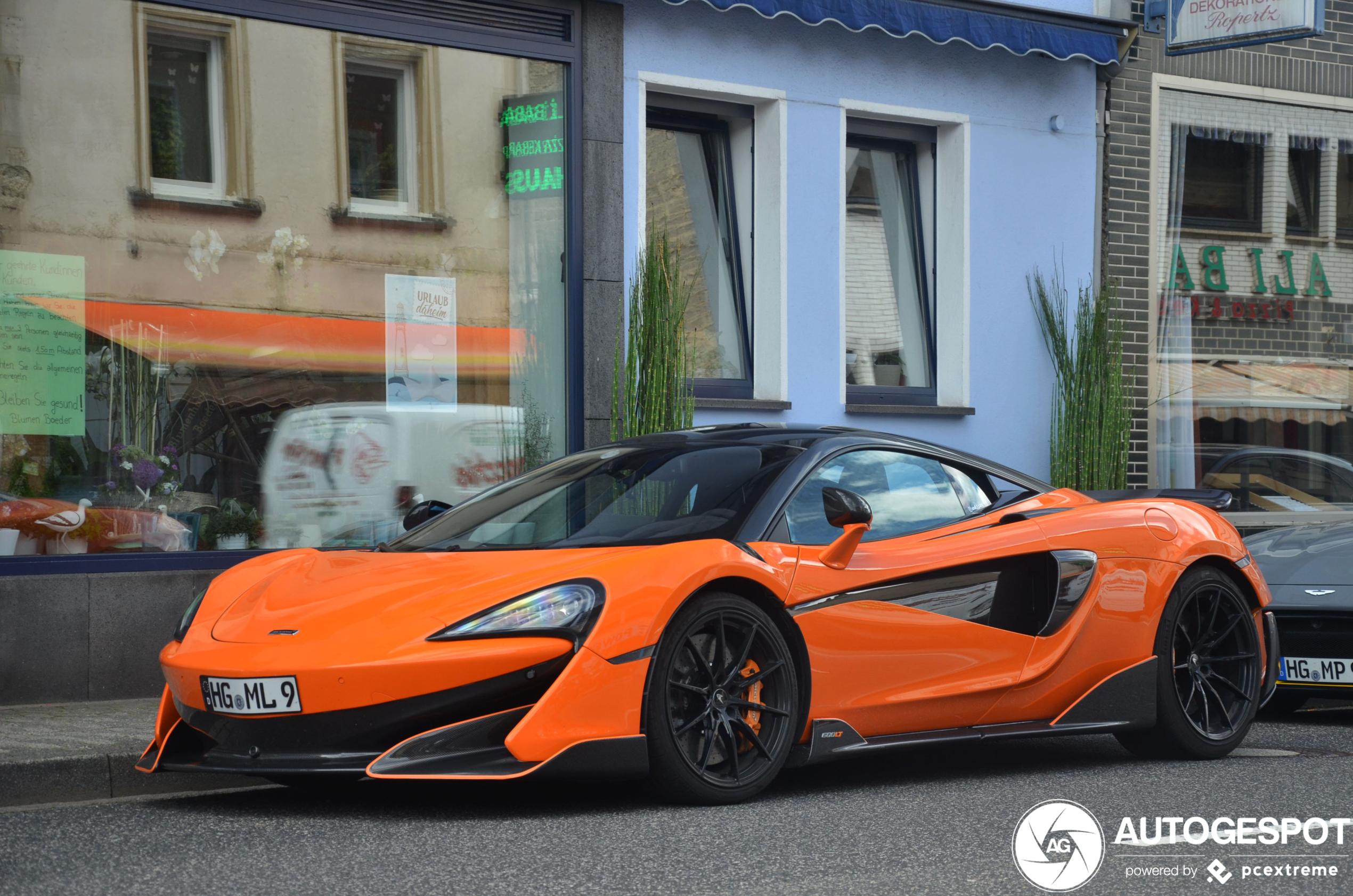 McLaren 600LT is op de juiste plaats